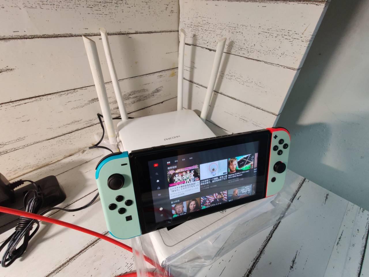宿舍使用老毛子k2桥接校园网实现Switch联网+加速
